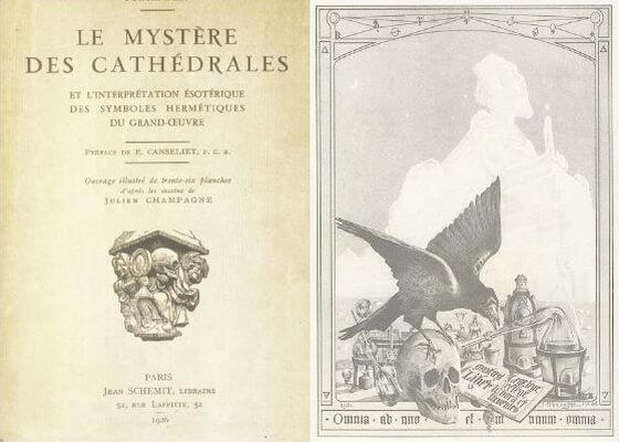 Resultado de imagen de fulcanelli catedrales rutas Barcelona