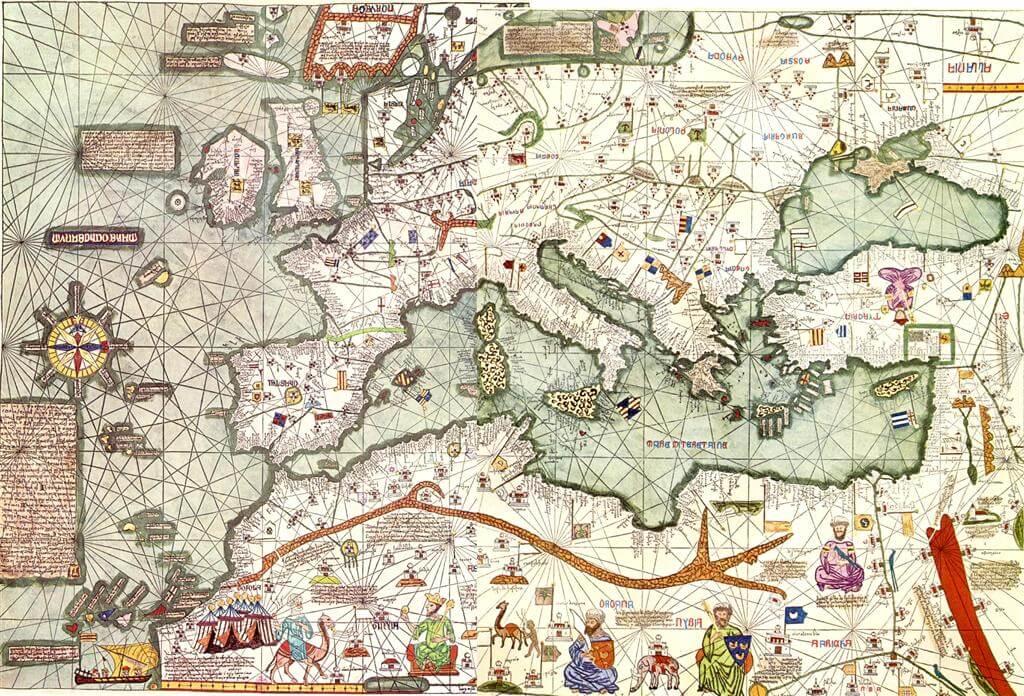 Mapa de Cresques
