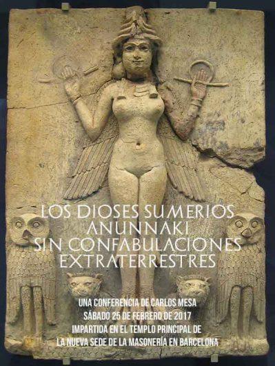 Conferencia Los dioses annunaki sin confabulaciones extraterrestres
