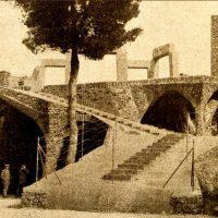 Foto antigua de la Cripta Güell
