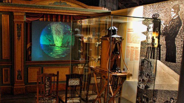 Visita Linternas mágicas en el museo del cine de Girona