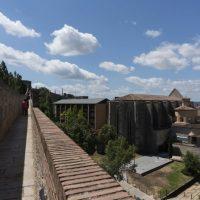 Sobre la muralla carolingia