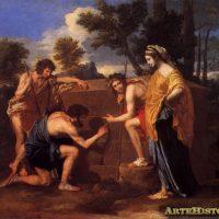 El cuadro de los Pastores en la Arcadia, de Nicolas Poussin