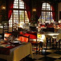 Comedor hotel La Chaumiére