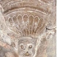 El bafomet templario de la Parroquia de Nuestra Señora de la Victoria
