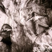 El nazi Otto Rahn iniciándose en la cueva de Betlen que iremos a visitar
