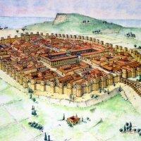Mapa de la antigua Barcino