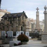 Vista general del cementerio
