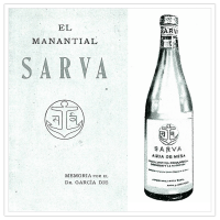 Sarva, la madre viuda, dio nombre al agua embotellada del parque