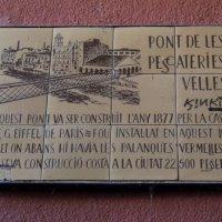 El precio del puente de las Peixateríes Velles, de Eiffel