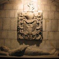 Sepulcro de Miquel de Boera, caballero del Santo Sepulcro de Jerusalén, en la iglesia de Santa Anna