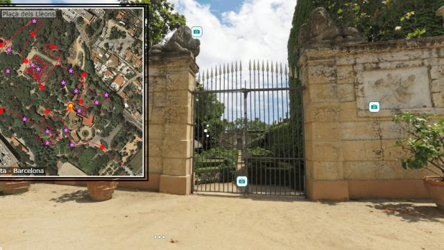 Tour online: El laberinto de Horta