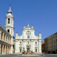 La Basílica de la Sagrada Familia, en San Loreto, Italia